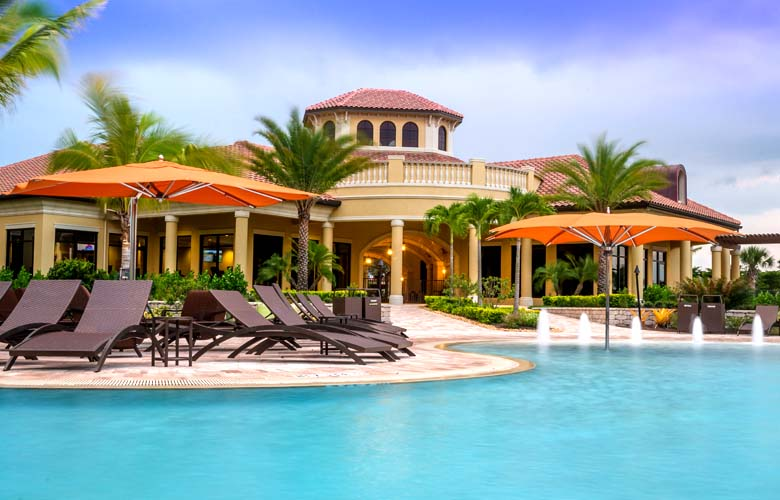 Clubhouse at Treviso Bay in Naples, Fl